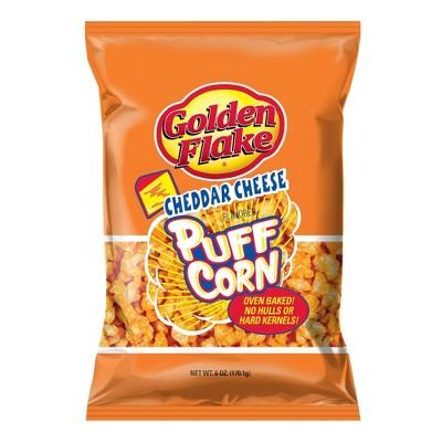 Golden Flake Cheddar Cheese Puff Corn - 7oz