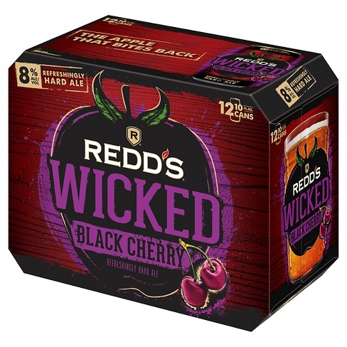 REDD'S® Wicked Black Cherry Ale - 12pk / 12oz Cans - image 1 of 1