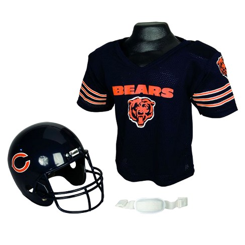 8410cc7157c Franklin Sports NFL Team Helmet And Jersey Set - Ages 5-9 - Chicago ...
