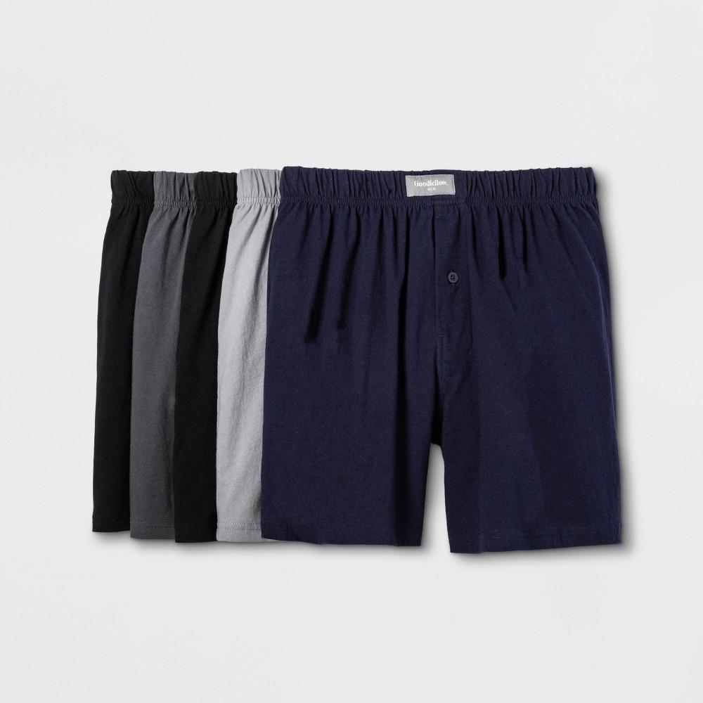 Men 39 S Knit Boxers 5pk Goodfellow 38 Co 8482 S