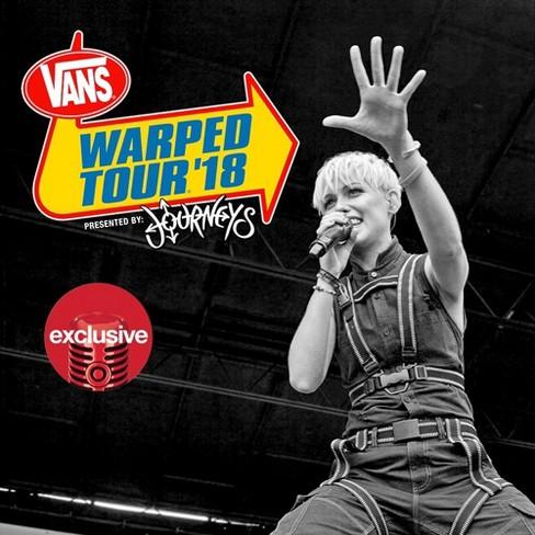 Various Artists - Warped Tour 2018 (Target Exclusive) (CD) - image 1 of 1