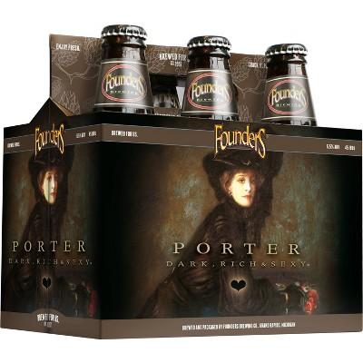 Founders Porter Beer - 6pk/12 fl oz Bottles