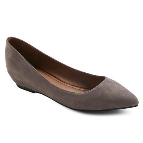8e6ec4539d84 Women's Drew Ballet Flats - Merona™ Gray 5.5 : Target