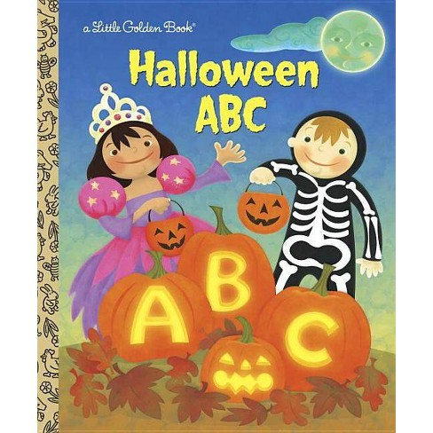 Halloween ABC - (Little Golden Books (Random House)) by  Sarah Albee (Hardcover) - image 1 of 1