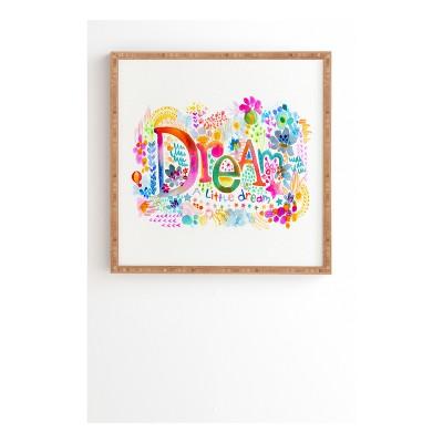 Stephanie Corfee Dream A Little Framed Wall Art