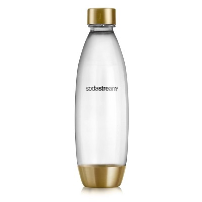 SodaStream 1L Slim Limited Edition Gold Carbonating Bottle