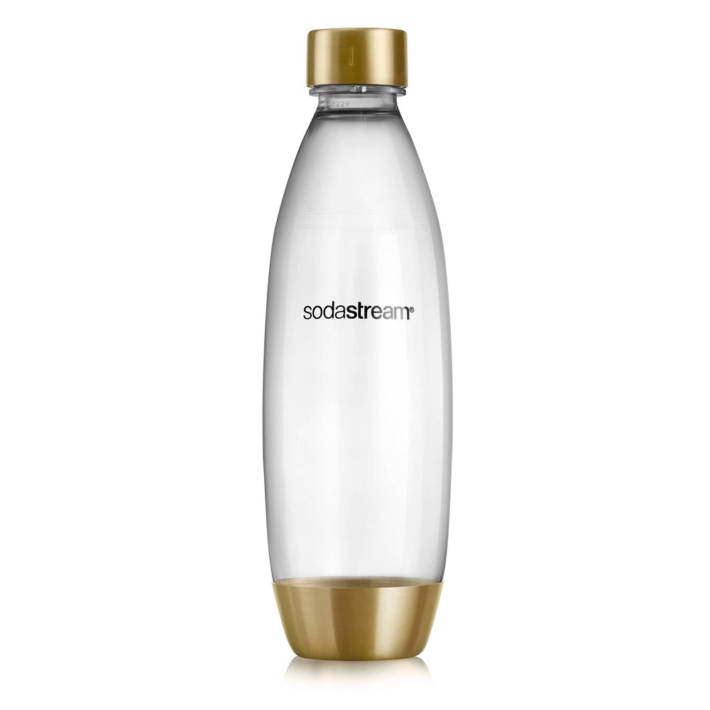 Image of SodaStream 1L Slim Limited Edition Gold Carbonating Bottle