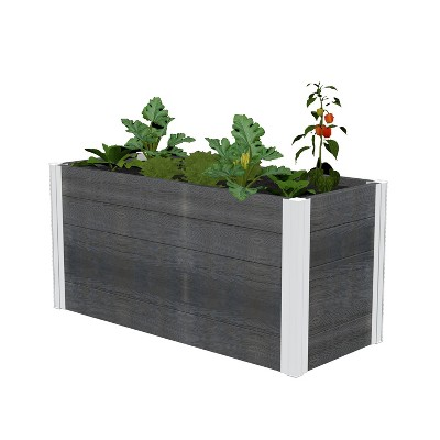 Urbana Small Parklette Rectangular Planter - New England Arbors