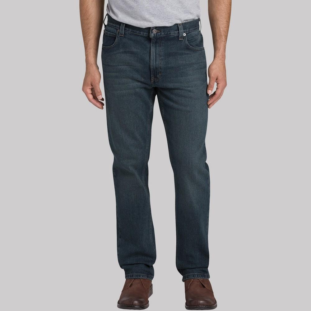 Dickies Men's Big & Tall Regular Straight Fit Jeans - Medium Tint Denim 44x32