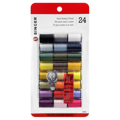 Singer 10yd 24 Spools with Threader Sewing Thread - image 1 of 1