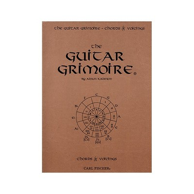Carl Fischer The Guitar Grimoire - Chords and Voicings Book
