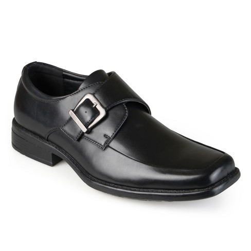 Men's Vance Co. Eli Square Toe Faux Leather Slip-on Loafers - image 1 of 5