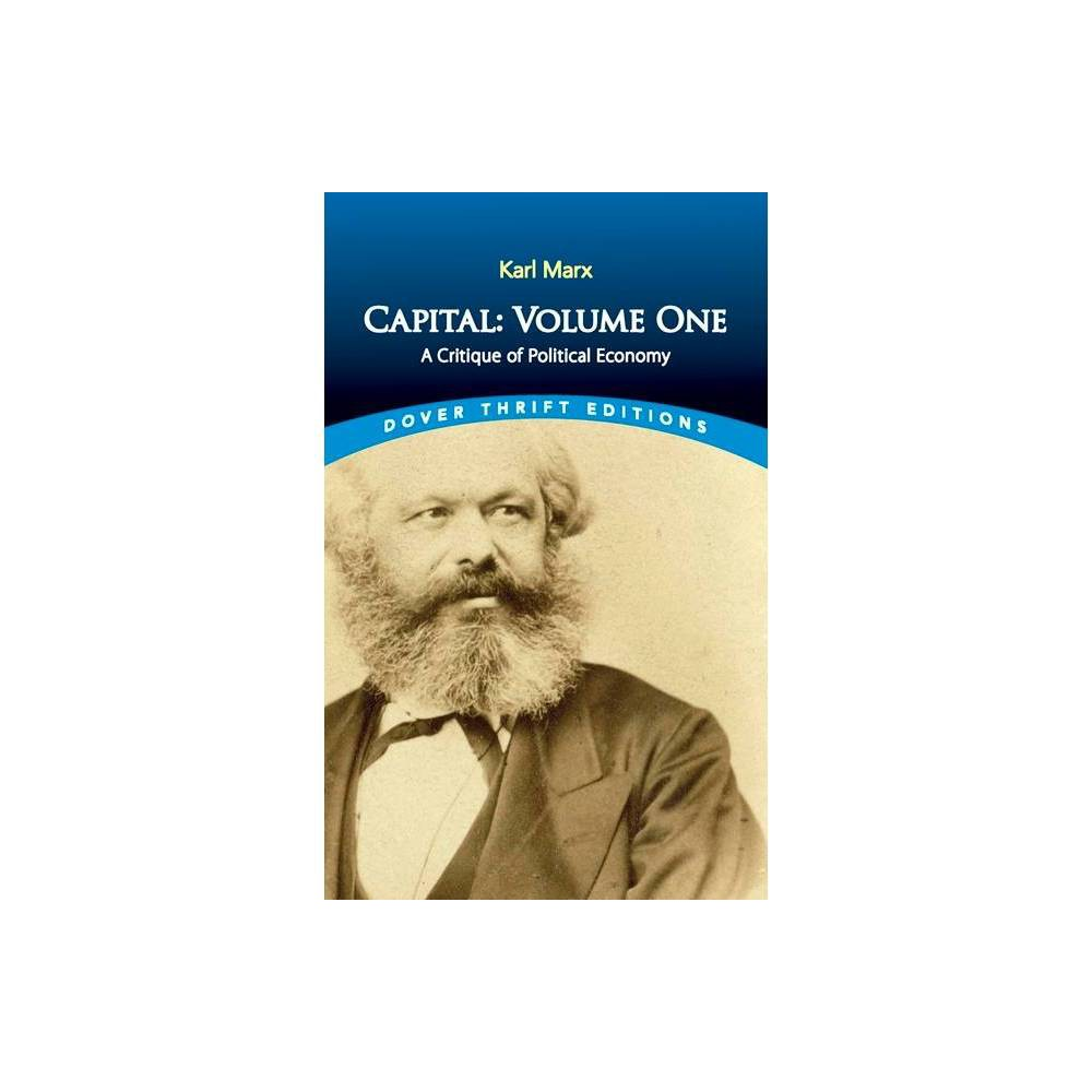 Capital Volume One Dover Thrift Editions By Karl Marx Paperback