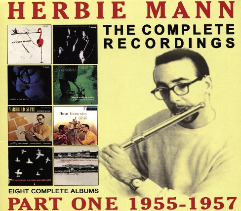 Herbie Mann - Complete Recordings:1955-1957 Herbie (CD) - image 1 of 1