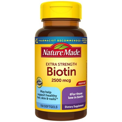 Nature Made Extra Strength Biotin