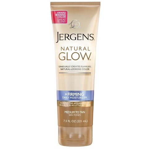 Jergens Natural Glow Firming and Daily Moisturizer 7.5 fl oz - image 1 of 4