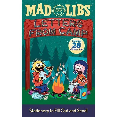 Letters from Camp Mad Libs - (Mixed media product) - image 1 of 1