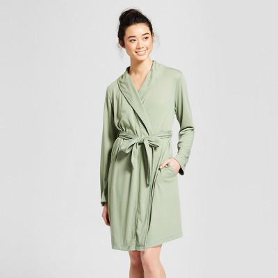 Women's Mid-Weight Robe - Gilligan & O'Malley™ Pioneer Sage M/L