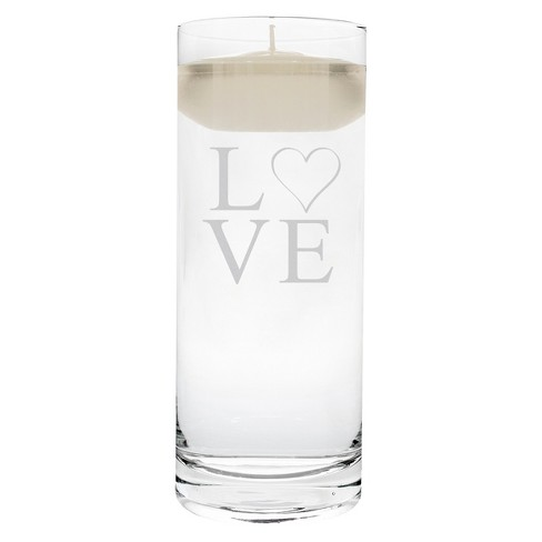 Modern Love Wedding Unity Candle - Cathy's Concepts® - image 1 of 1
