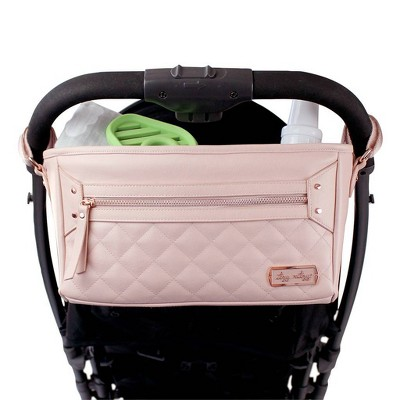 Itzy Ritzy Stroller Caddy - Blush