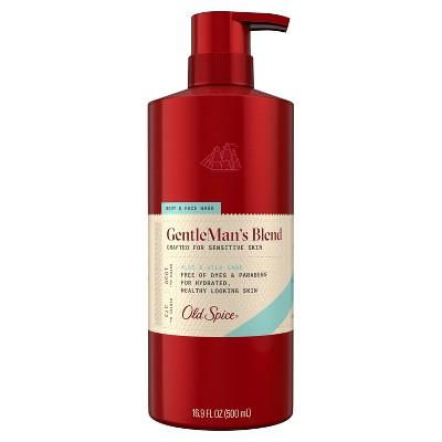 Old Spice GentleMan's Blend Aloe & Wild Sage Body & Face Wash - 16.9 fl oz