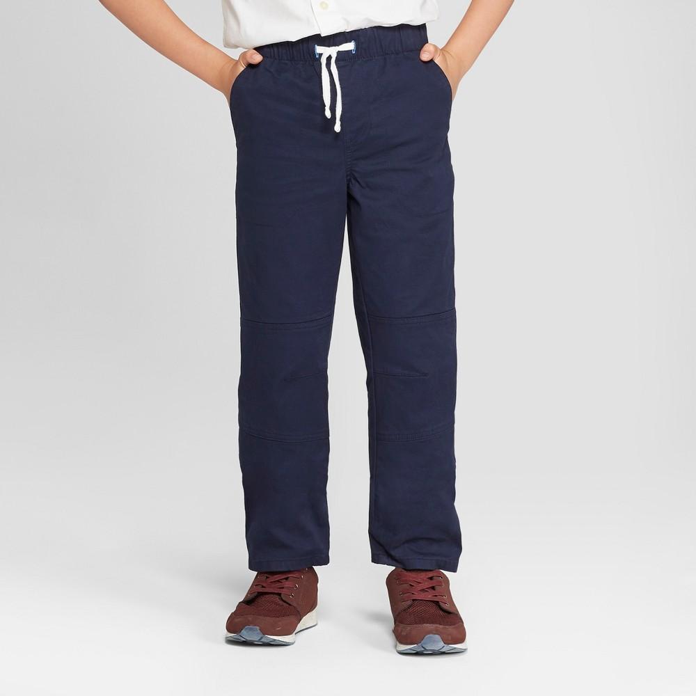Boys' Pull-On Pants - Cat & Jack Navy (Blue) 5