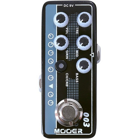 Mooer Power-Zone Micro Preamp Pedal Black