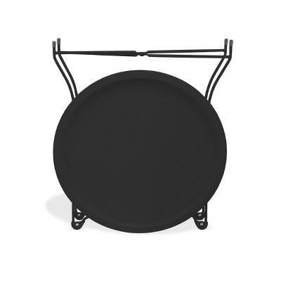 End Table Metal Black - Atlantic : Target