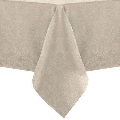 Caiden Elegance Damask Tablecloth - Elrene Home Fashions