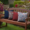 2pk Clark Square Outdoor Throw Pillows - Arden Selections - image 3 of 4