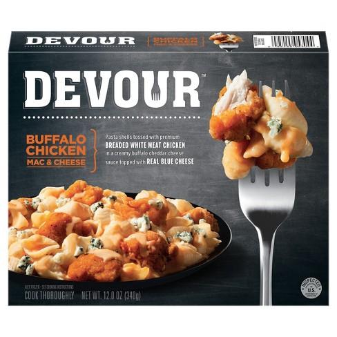 Devour Buffalo Frozen Chicken Mac Cheese 12oz Target