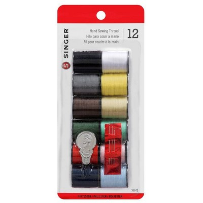 Singer 12pk Thread Assorted Colors