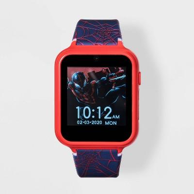 Boys' Marvel Spider-Man Interactive Watch - Blue/Red