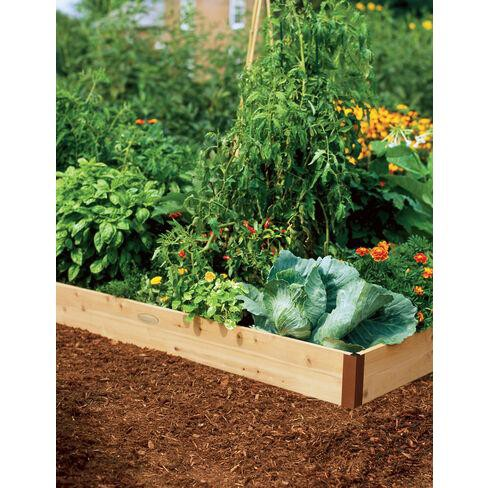 Raised Garden Bed 2' x 4' - Gardener's Supply Company - image 1 of 2