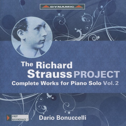 Dario Bonuccelli - Strauss:Complete Works For Piano V2 (CD) - image 1 of 1
