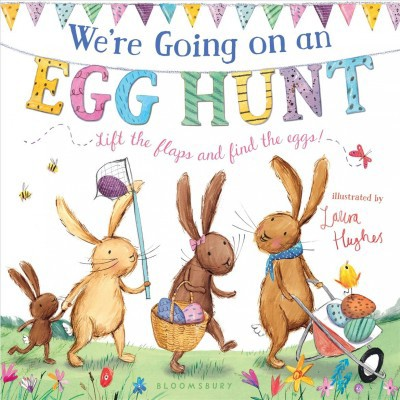 We're Going on an Egg Hunt - (Board Book)