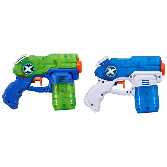 Zuru X-Shot Water Warfare Double Stealth Soakers Small Water Blaster Value Pack image number null