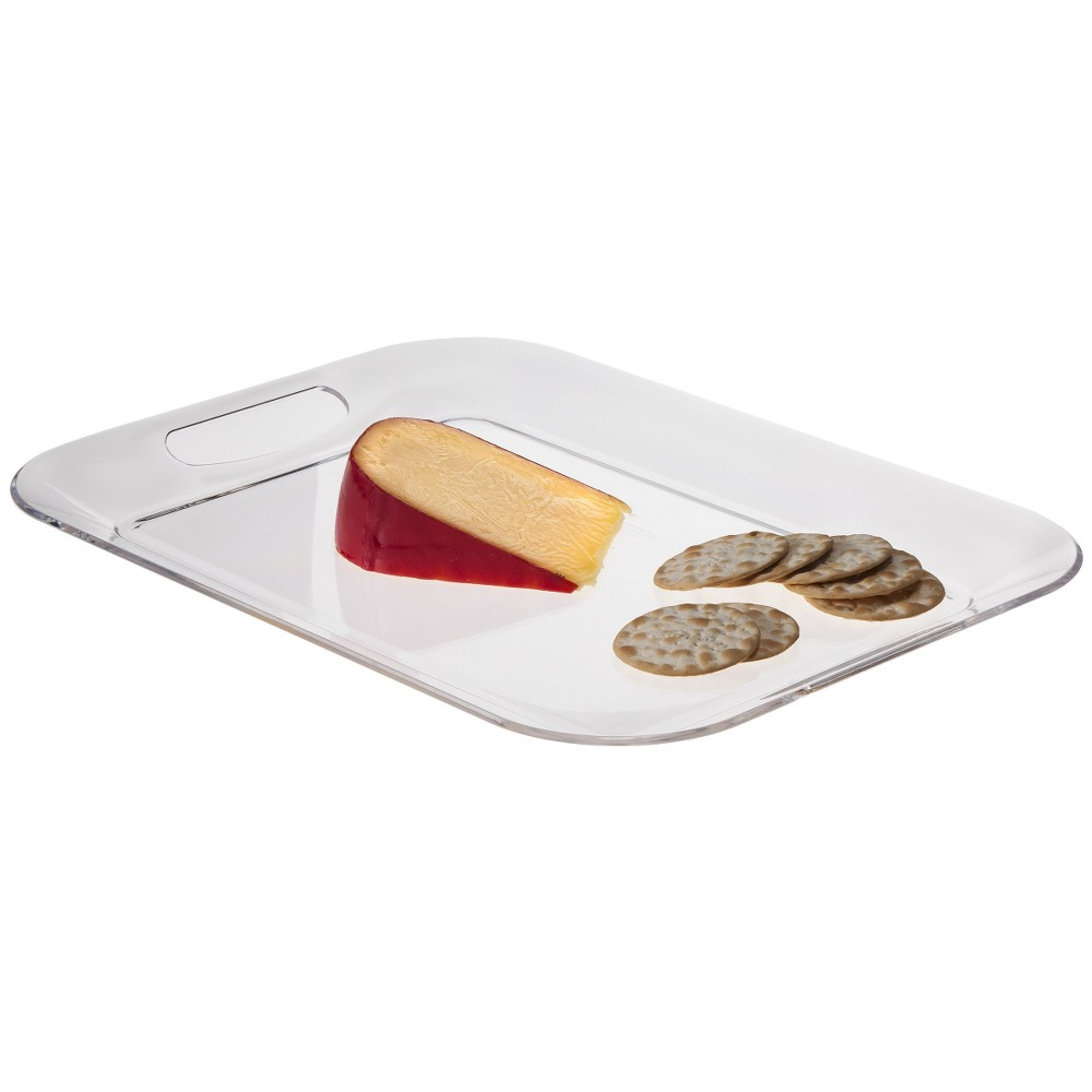 "Image of ""16"""" x 12"""" Plastic Serving Tray - Room Essentials"""