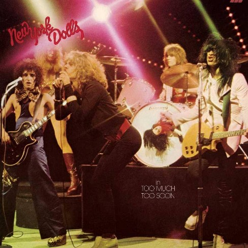 New York Dolls - TOO MUCH TOO SOON (Vinyl) - image 1 of 1