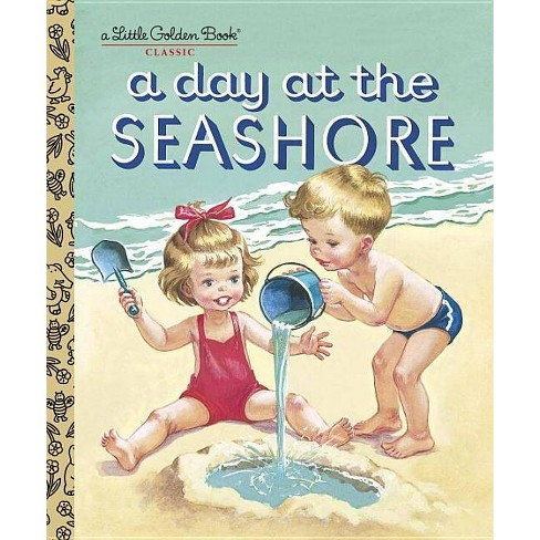 A Day at the Seashore - (Little Golden Book Classic) (Hardcover) - image 1 of 1