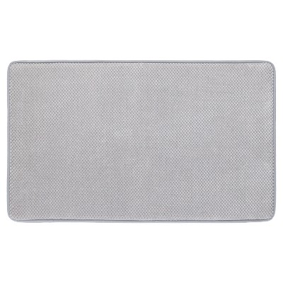 Memory Foam Bath Mat - Gray - 20 x34  - Mohawk Home