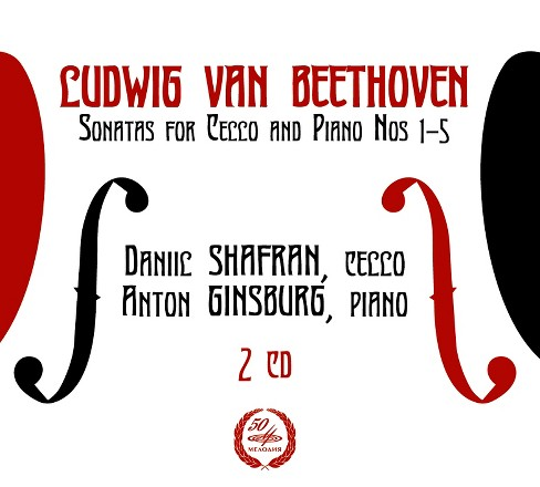 Daniil shafran - Beethoven:Sons for cello & piano nos (CD) - image 1 of 1