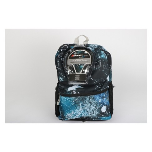 17 E Chart Backpack With Headphones