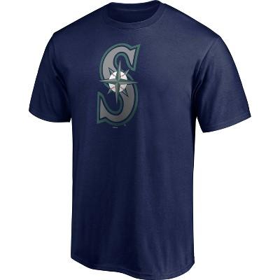 MLB Seattle Mariners Men's Short Sleeve Core T-Shirt