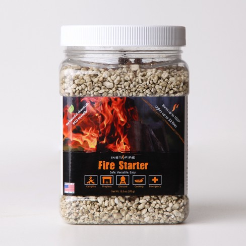 Insta-Fire 1/4 Gallon Quart Jug Firestarter - image 1 of 4