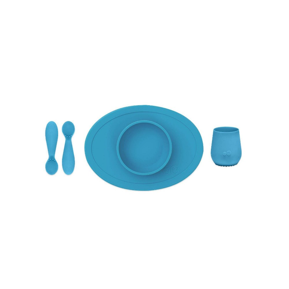 Image of ezpz First Food Set - Blue