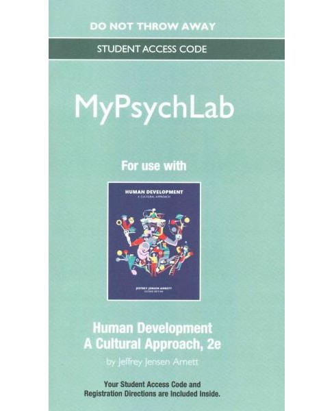 Human Development My Psych Lab Access Code : A Cultural Approach (Student) (Hardcover) (Jeffrey Jensen - image 1 of 1