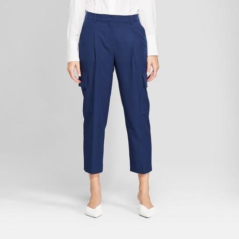 Women S Straight Leg Cropped Cargo Pants Prologue