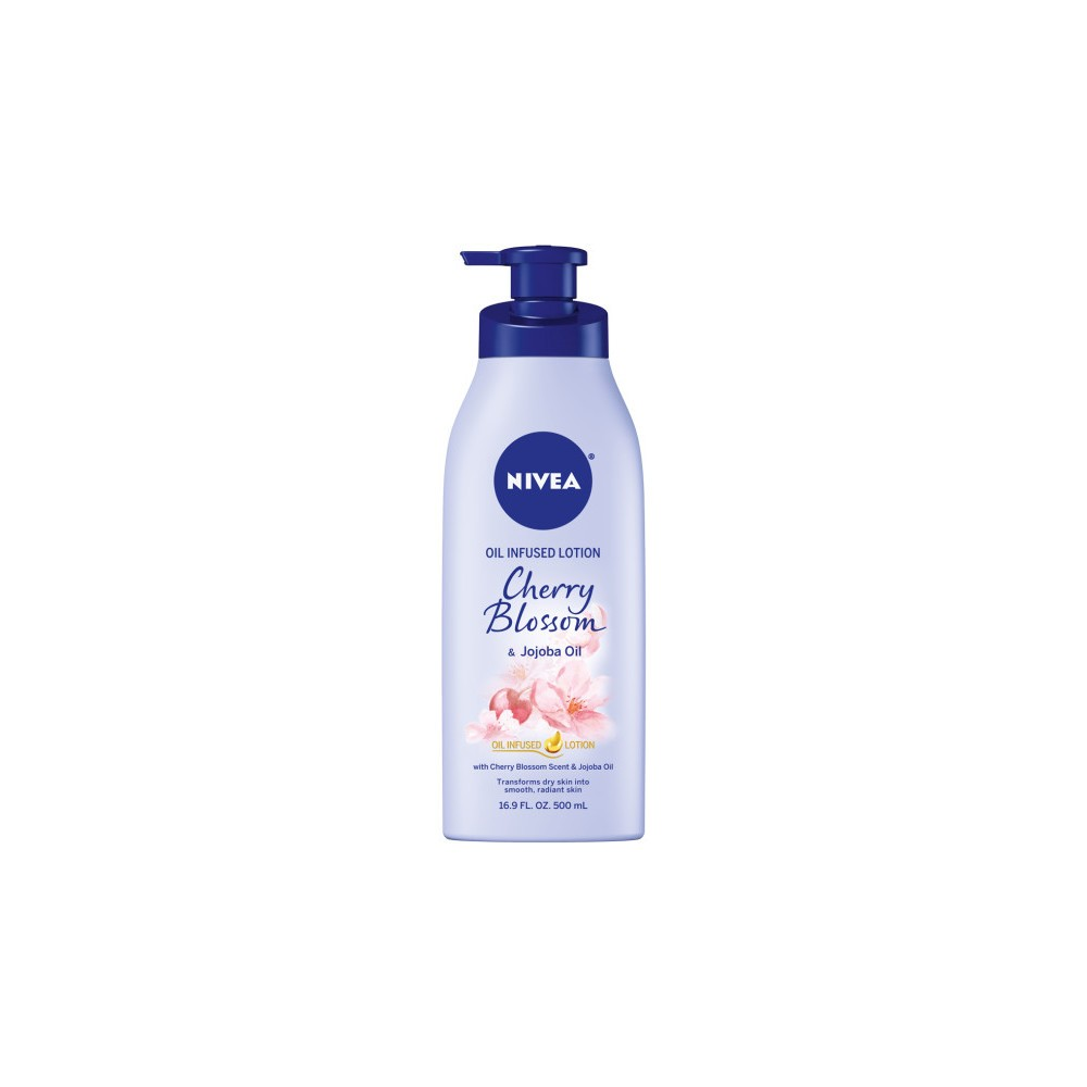 Image of NIVEA Cherry Blossom and Jojoba Oil Infused Body Lotion - 16.9 fl oz