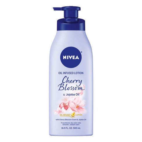 NIVEA Oil Infused Lotion Cherry Blossom & Jojoba Oil 16.9 fl oz - image 1 of 3